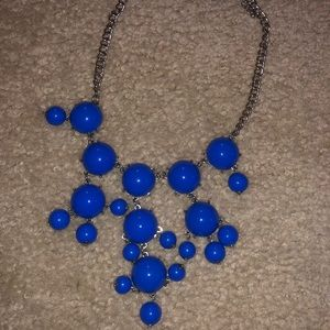 Royal Blue Accent Necklace